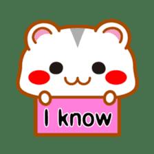 PokePoke Hamster sticker #12364214