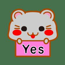 PokePoke Hamster sticker #12364216