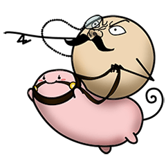 Monocle Ball & Hamsterbean