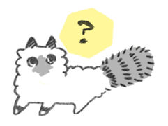 My Ragdoll Cat sticker #12369668