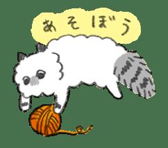 My Ragdoll Cat sticker #12369680