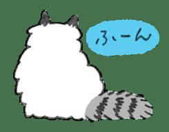 My Ragdoll Cat sticker #12369682