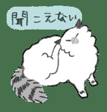 My Ragdoll Cat sticker #12369683