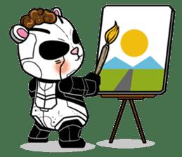 Panda Kibo ver.Mecha sticker #12371183