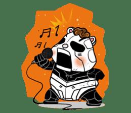 Panda Kibo ver.Mecha sticker #12371184
