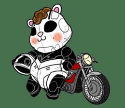 Panda Kibo ver.Mecha sticker #12371185