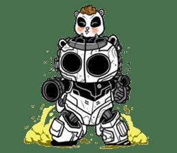 Panda Kibo ver.Mecha sticker #12371191