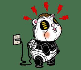 Panda Kibo ver.Mecha sticker #12371193