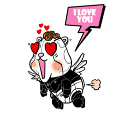 Panda Kibo ver.Mecha sticker #12371197