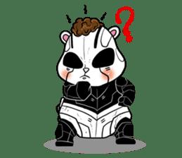 Panda Kibo ver.Mecha sticker #12371201