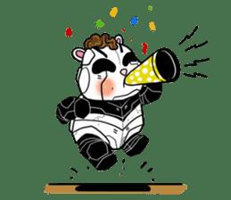 Panda Kibo ver.Mecha sticker #12371203