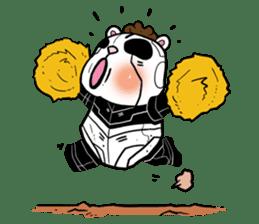 Panda Kibo ver.Mecha sticker #12371213