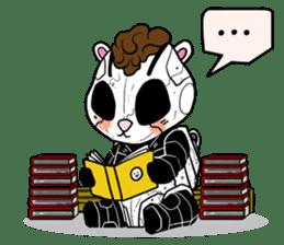Panda Kibo ver.Mecha sticker #12371219