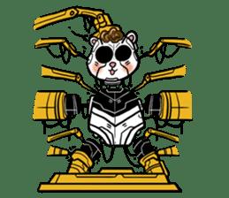 Panda Kibo ver.Mecha sticker #12371221