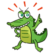 Mr.Croco sticker #12372232
