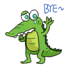 Mr.Croco sticker #12372244