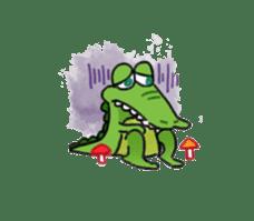 Mr.Croco sticker #12372248