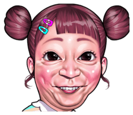 funny face Collection sticker #12376947