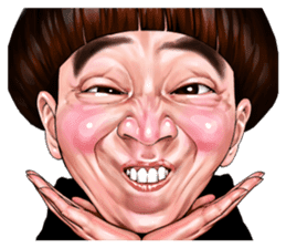 funny face Collection sticker #12376965