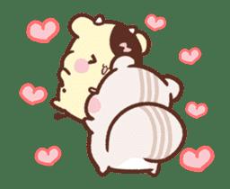 Sweet House shining couple segment sticker #12381848