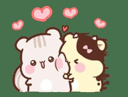Sweet House shining couple segment sticker #12381849