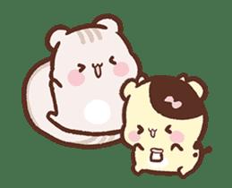 Sweet House shining couple segment sticker #12381854