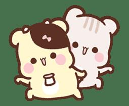 Sweet House shining couple segment sticker #12381858