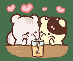 Sweet House shining couple segment sticker #12381859