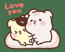 Sweet House shining couple segment sticker #12381864