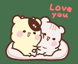 Sweet House shining couple segment sticker #12381865