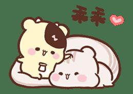 Sweet House shining couple segment sticker #12381866