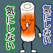 สติ๊กเกอร์ไลน์ Delicious fish sausage
