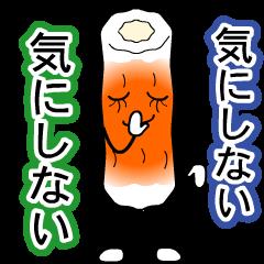 Delicious fish sausage