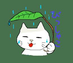 kawaii cute cats sticker #12385761