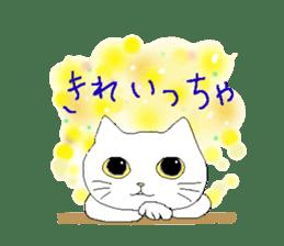 kawaii cute cats sticker #12385779