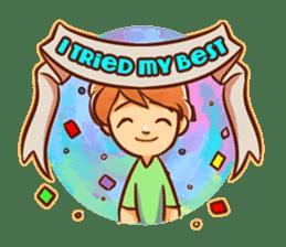 Color Drops : Encouragements sticker #12388803