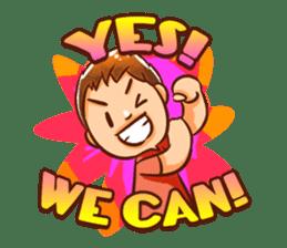 Color Drops : Encouragements sticker #12388818