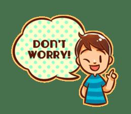 Color Drops : Encouragements sticker #12388831