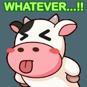 สติ๊กเกอร์ไลน์ Momo Cow : Animate Sticker