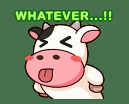 Momo Cow : Animate Sticker sticker #12398800