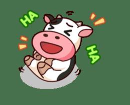 Momo Cow : Animate Sticker sticker #12398801