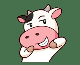 Momo Cow : Animate Sticker sticker #12398807