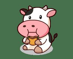 Momo Cow : Animate Sticker sticker #12398809