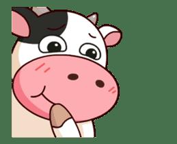 Momo Cow : Animate Sticker sticker #12398810