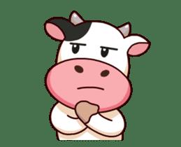 Momo Cow : Animate Sticker sticker #12398815
