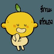 สติ๊กเกอร์ไลน์ Lemon kawaee2