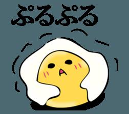 Egg egg 3 sticker #12412626