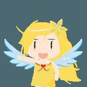 สติ๊กเกอร์ไลน์ A Fairy of Flower : Jasmine