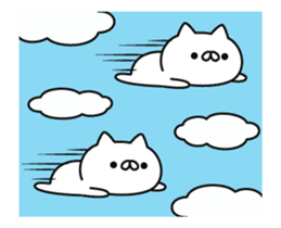 a lot of cute cat animation sticker #12413729