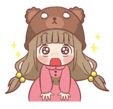 Centilia's Little Cousin : Chocony sticker #12415176